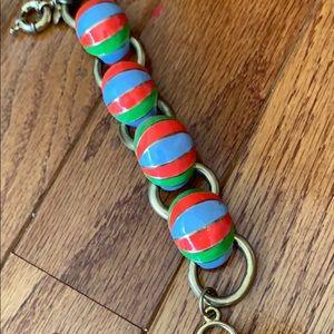 Fun JCrew enamel bracelet
